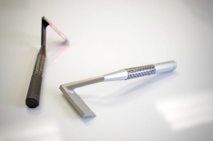 Skarp Laser Razor promete revolucionar a forma de barbear (Foto: Divulgação/Skarp Technologies)