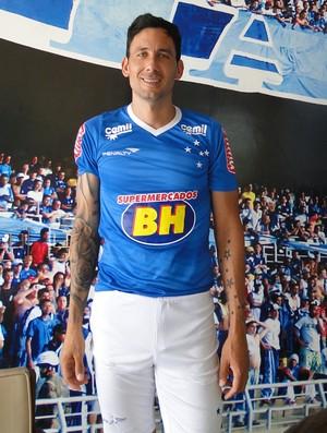 Ariel Cabral, do Cruzeiro (Foto: Tayrane Corrêa)