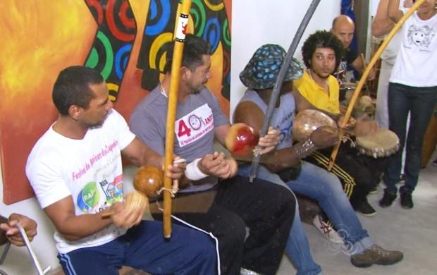 Casa da Capoeira é inaugurada em Boa Vista e deve beneficiar praticantes (Foto: Roraima TV)