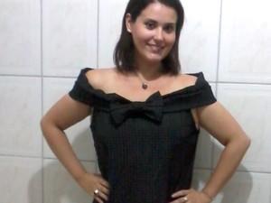 Mulher perde quase 50 kg com dieta específica e exercícios físicos (Foto: Arquivo Pessoal/ Isis Vargas)