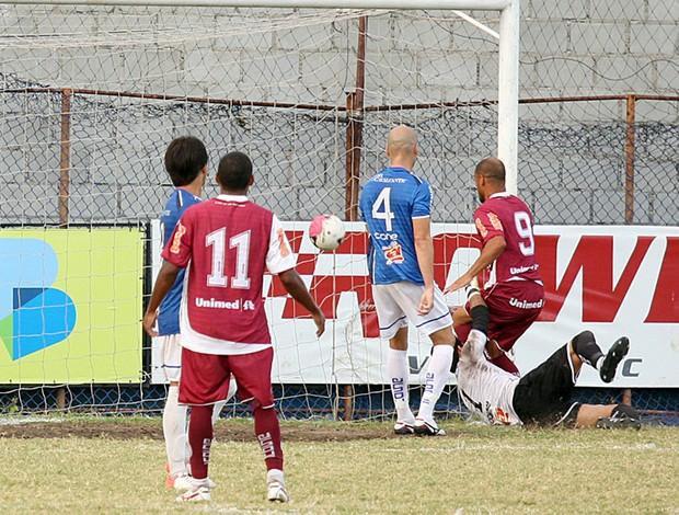 Copa Espírito Santo 2012: Vitória-ES x Desportiva Ferroviária (Foto: Simon Dias/Rádio ES)