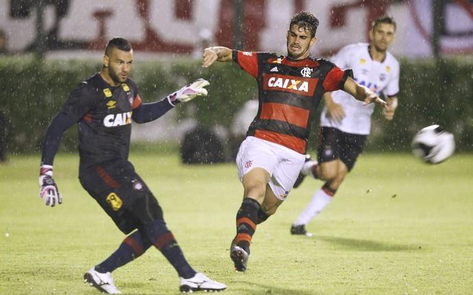 Felipe Vizeu, Flamengo X Atlético-PR (Foto: Gilvan de Souza / Flamengo)