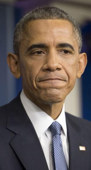 Obama na entrevista de fim de ano (Foto: Pablo Martinez Monsivais/AP)