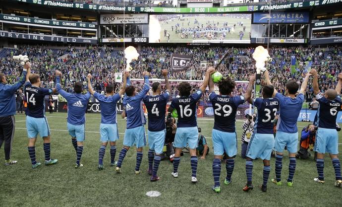 Torcida Seattle Sounders MLS (Foto: AP)