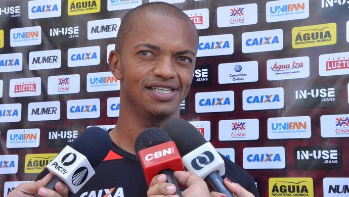 Marcus Winícius - zagueiro do Atlético-GO (Foto: Divulgação / Atlético-GO)