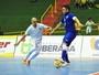 Falcão deixa o dele e Brasil vence Uruguai no Sul-Americano de Futsal