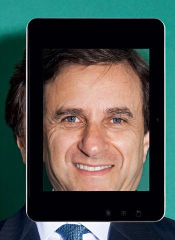 Rotenberg, presidente: lançamento de um tablet e entrada no segmento de smartphones (Foto: Rafael Dabul)