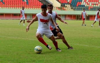 Em semana de mudanças, Rio Branco Sub-20 perde por 1 a 0 em amistoso