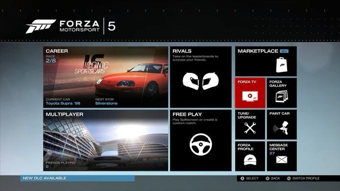 Escolha Forza TV (Foto: Reprodução/Murilo Molina)