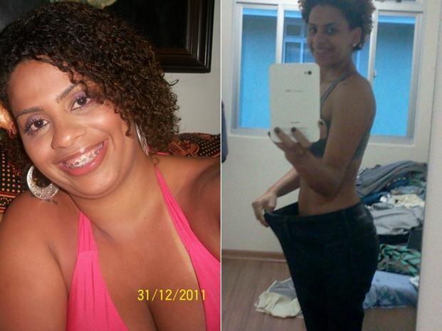 Atualmente com 58 kg, ela se sente mais vaidosa e disposta para as atividades do dia a dia (Foto: Arquivo pessoal)