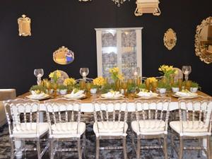 Decoração deve ser feita de acordo com o tipo de festa, diz decorador (Foto: Fernanda Bonilha/G1)