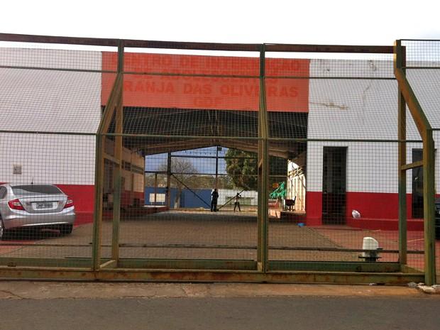 Fachada da Unidade de Internação do Recanto das Emas, no Distrito Federal (Foto: Raquel Morais/G1)