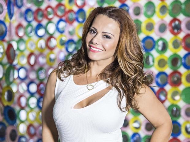 Viviane Araújo atribui sucesso da sua personagem ao reconhecimento do público (Foto: Alex Carvalho/ TV Globo)