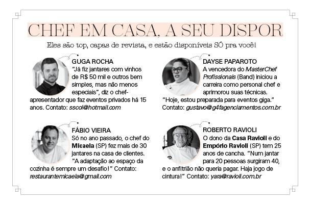 CHEF EM CASA, A SEU DISPOR (Foto: Divulgação)