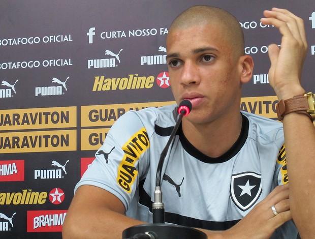 Doria, Botafogo (Foto: Thales Soares / Globoesporte.com)