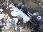 Carga de peixes é saqueada após acidente na BR-116 em Divino, MG
