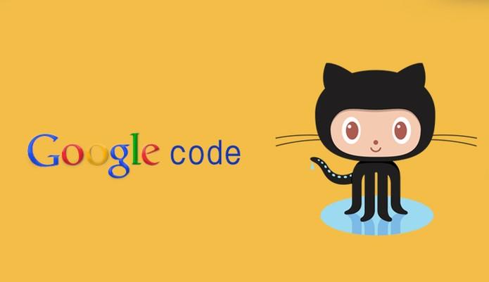 Github Google code (Foto: Arte/TechTudo)