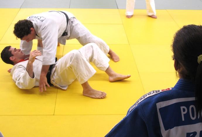 Flávio Canto treino na Escola de Educação Física do Exército (Foto: Thierry Gozzer)