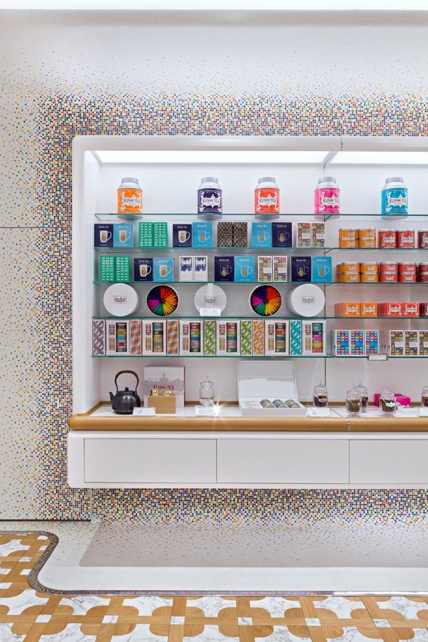 Marca de chá inaugura loja inspirada em igrejas russas (Foto: Divulgação)