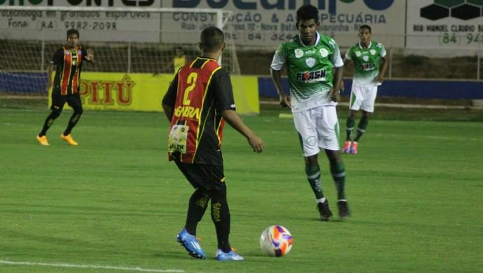 Alecrim x Globo FC, no Nazarenão (Foto: Kaline Rodrigues/Divulgação)