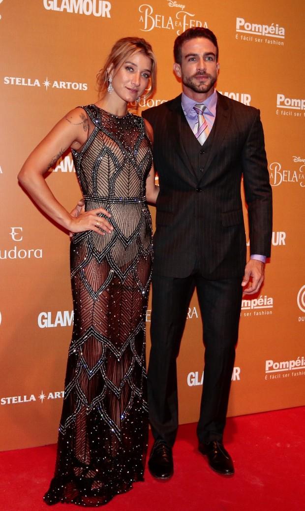 Gabriela Pugliesi e namorado (Foto: Rafael Cusato/EGO)