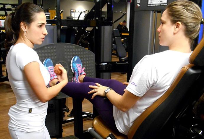 EuAtleta Musculação MamaeGentil (Foto: EuAtleta)