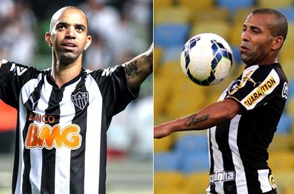 Diego Tardelli e Emerson Sheik são referência no ataque dos alvinegros (Foto:  Reprodução Globoesporte)