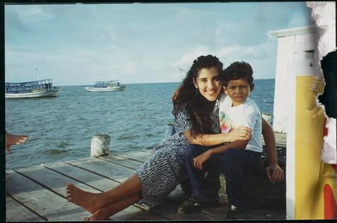 Regina Casé com Tom do Cajueiro (Foto: Arquivo)