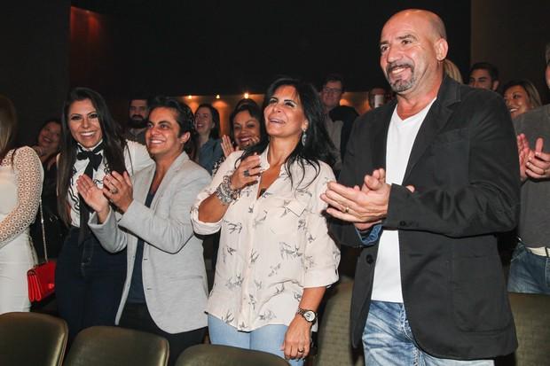 Andressa, Thammy, Gretchen e o marido (Foto: Manuela Scarpa/PhotoRio News)