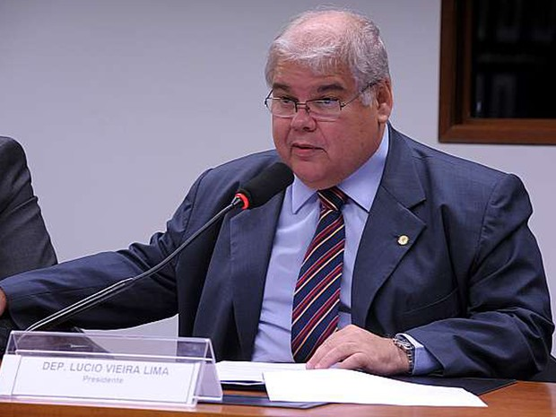 Deputado Lúcio Vieira Lima (PMDB-BA) (Foto: Alexandra Martins)