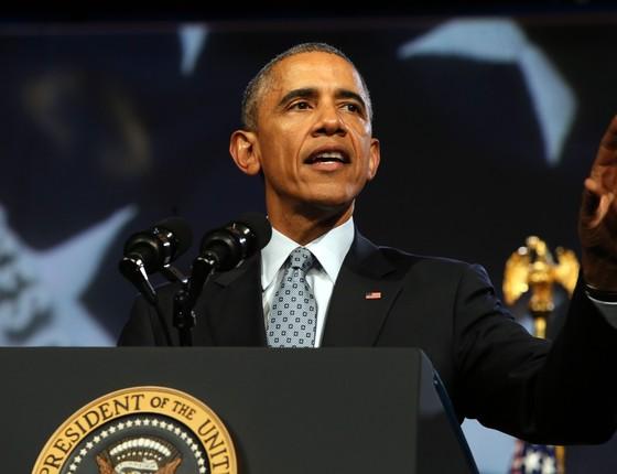 Barack Obama, presidente dos EUA, em Chicago (Foto: Antonio Perez/Chicago Tribune via AP)