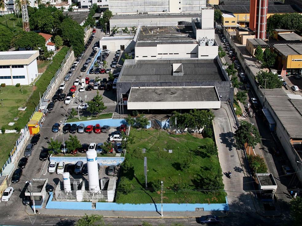 Fugitivo estava internado no Walfredo Gurgel para tratar ferimento de bala (Foto: Sesap/Divulgação)