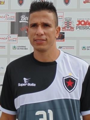 Potita, atacante do Botafogo-PB (Foto: Divulgação / Botafogo-PB)