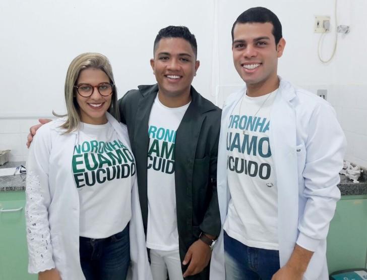 Camila Coelho, Uilins Palma e George Gomes