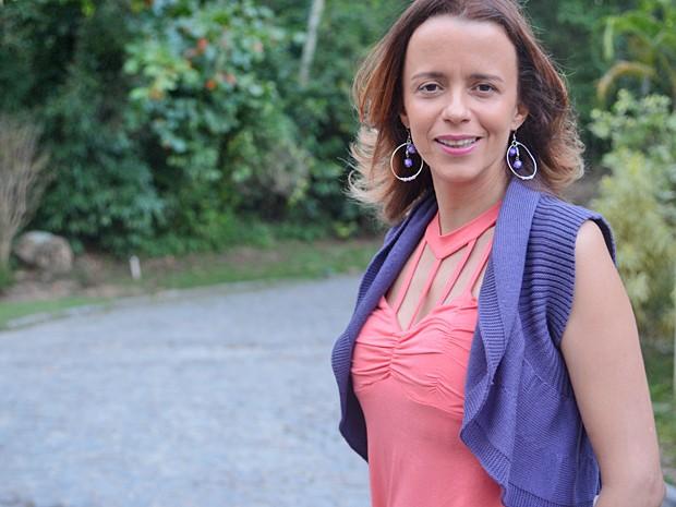 Dani Barros revela inspirações para a deslumbrada Lorraine (Foto: Raphael Dias / TV Globo)