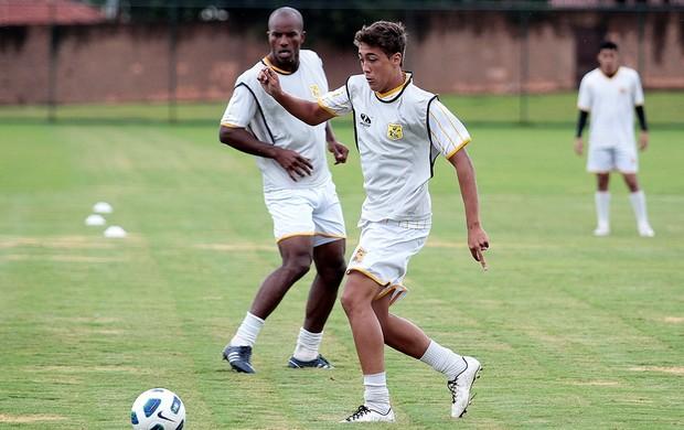 Romarinho treina no Brasiliense (Foto: Cláudio Bispo / Brasiliense FC)