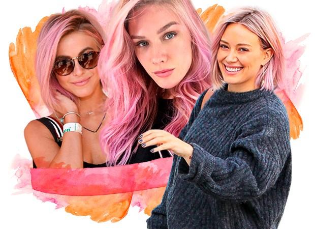 cabelo rosa (Foto: Divulgação)