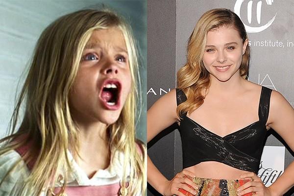 Há nove anos atrás, a estrela de 'Se Eu Ficar', Chloe Moretz, interpretou Chelsea Lutz no remake de 'Horror em Amityville'. (Foto: Divulgação/Getty Images)
