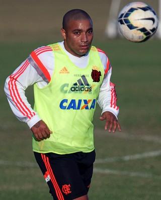 Anderson Pico treino Flamengo (Foto: Gilvan de Souza / Flamengo)
