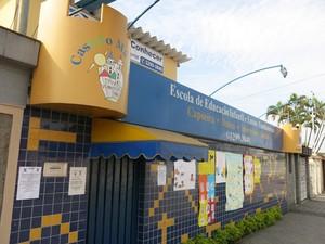 Escola foi crescendo ao longo dos anos (Foto: Antonio Marcos/G1)