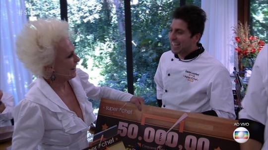 Mais Você: Gabriel Louchard é o vencedor do Super Chef Celebridades