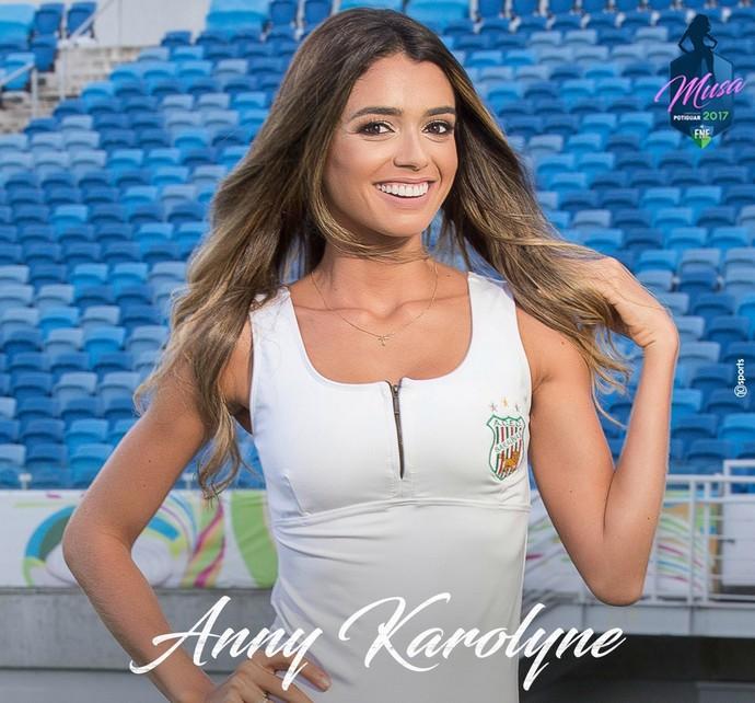MUSA DO CAMPEONATO POTIGUAR 2017 - Anny Karolyne de Araújo Carneiro - Baraúnas (Foto: Divulgação)