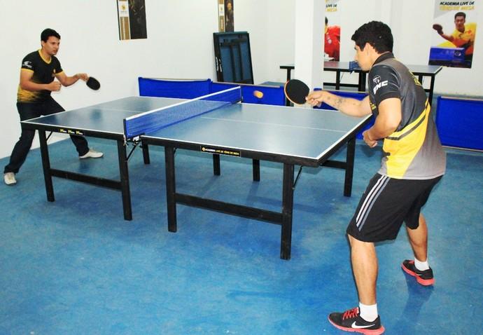 Sexta etapa reúne mesatenistas pioneiros no tênis de mesa roraimense (Foto: Imagem/Tércio Neto)