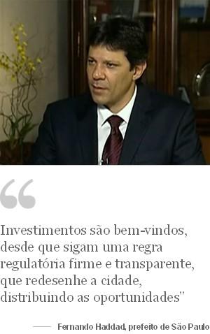 Fernando Haddad (Foto: Reprodução GloboNews)