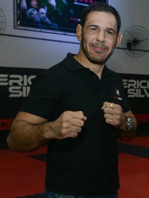 Rogério Minotouro, lutador meio-pesado do UFC (Foto: Ricardo Medeiros/A Gazeta)