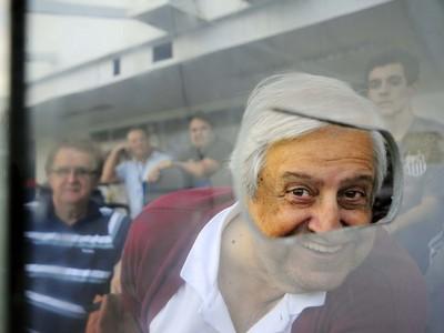 Modesto Roma, presidente do Santos (Foto: Marcos Ribolli)