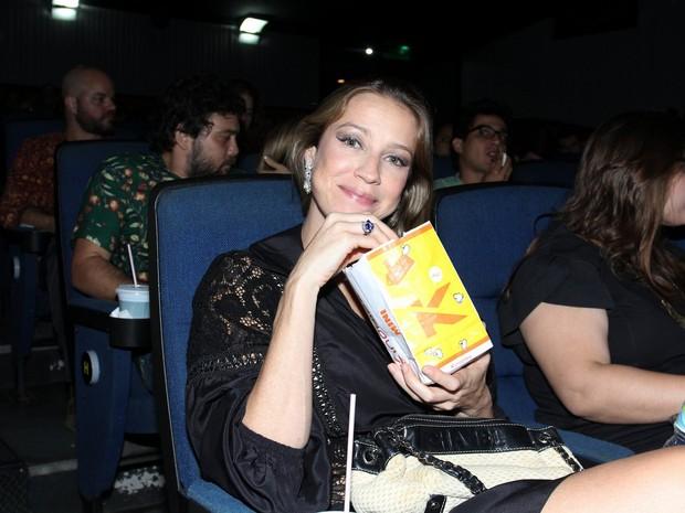 Luana Piovani em pré-estreia de filme na Zona Sul do Rio (Foto: Alex Palarea/ Ag. News)