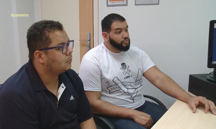 Elias Moreira e Jorjão Pampolha participam do 'Medida Certa no Paneiro' (Foto: Rede Amazônica)