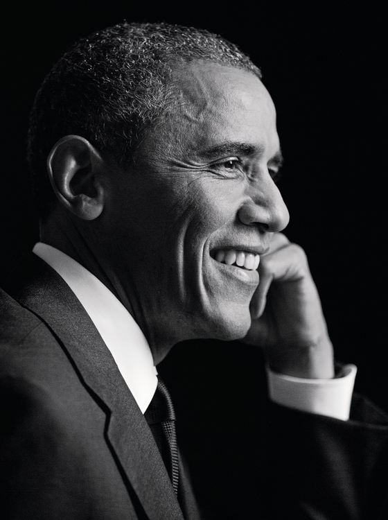 O ex-presidente dos Estados Unidos Barack Obama (Foto:   Inez and Vinoodh / Trunk Archive)
