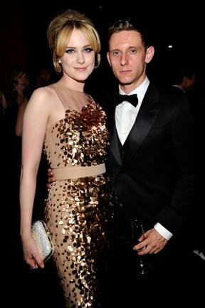 Evan Rachel Wood e Jamie Bell  (Foto: Getty Images / Agência)